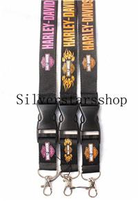 high quantity HARLEY-DAVISION key lanyards id badge Neck Lanyard holder keychain straps for mobile phone Fast Shipping