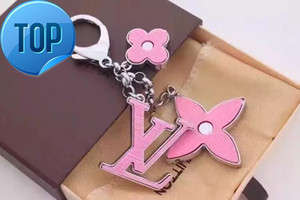 Wholesale 2019 Women Men Accessories Charm Key Holder KEY HOLDERS BAG CHARMS HOME Acrylic FLEUR D EPI BAG CHARM M65084