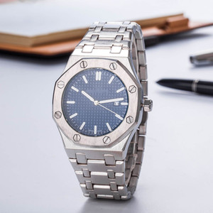 Wholesale Promotion Sale Fashion Mens Luxury Watch teel Top offshore Quartz Movement Blue Dial Mens Designer Luxury Watch Royal Oak Clock