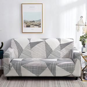 Wholesale loveseat cover resale online - 50 sofa covers elastic for living room arm seat sofa fully wrapped slipcovers stretch loveseat sectional seat cover