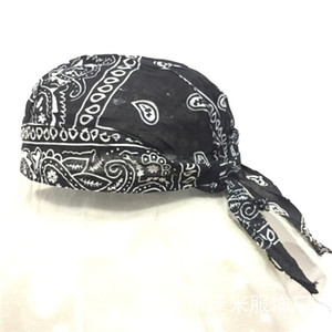 Wholesale doo rags for sale - Group buy Fashion Cotton Paisley Motorcycle Skull Cap Doo Rag Bandana Hair Wrap Hat Head Cover