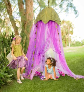 Wholesale Ins Leef Kids Baby Canopy Mosquito Net Anti Mosquito Princess Bed Canopy Girls Bedding Room Decoration Bed Canopy VT0151