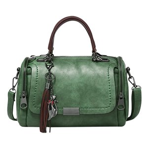 Wholesale Fashion Multifunction Leather Backpack Shoulder Bag Women School Bags Bolsa de Cubo de Gran Capacidad