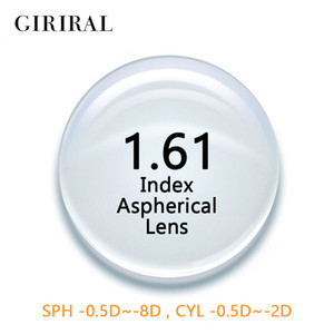 Wholesale 1 Index CR Single Version glasses lenses prescription Aspheric Clear optical Myopia eyeglass lenses CR
