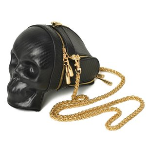 Wholesale Ameiliyar Brand Fashion Gothic Skull Retro Rock bag Women Shoulder Bags Phone Case Holder Purses and Handbags Crossbody Bag