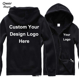 Wholesale Drop Shipping VIP DIY Custom Logo and Design Hoodie Mens Women Jacket Fashion Costume Coat Unisex