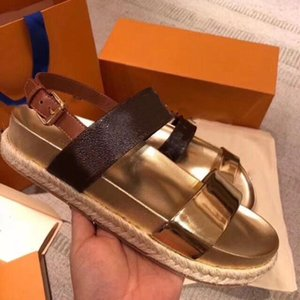 Wholesale ODYSSEY Sandal New Arrivals Luxury Latest Women Flat Designer Sandals Size Color Model YJ04
