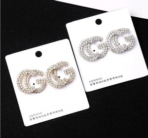 2019 New Earrings Stainless Steel Initial Letter Earrings for Women Girls layd stud Personalized Everyday Jewelry bijoux
