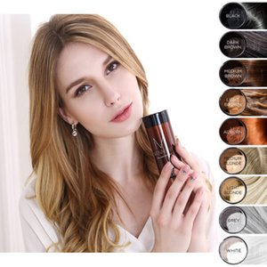 Hair Extension Fiber Thinning Hair Loss 25g Multi Color Temporary Coloring Instantly Dense Hair Loss Product on Sale