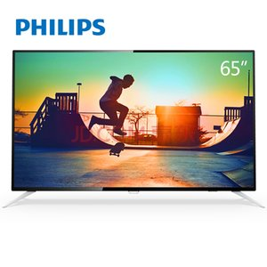 Wholesale Television Philips 65PUF6112 T3 65 inches 4K UHD Screen TV WIFI Ultra-thin Dolby Surround full HD2 core high performance CPU 5-core GPU