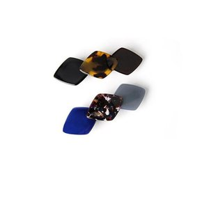 Wholesale Women Multicolor French Hand Making Cellulose Acetate Hair Clip Barrette Fascinator accesory para el pelo