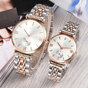 Wholesale 2019 Hot sale AR Fashion Mens Womens Watches Casual Dress Luxury Design Quartz Watch Montre Clock Relojes De Marca Wristwatch