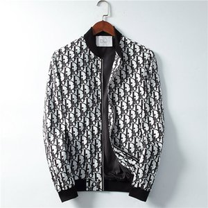 RR 19SS Italian fashion brand windbreaker jacket Medusa snake print jacket men's casual long-sleeved hooded jacket M-3XL