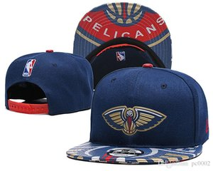 Wholesale Men s Youth New O Pelicans New Navy Red Black Two Tone FIFTY Snapback Adjustable Hat Ball Caps
