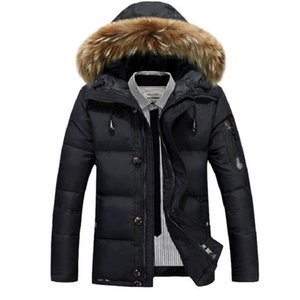 Wholesale mens designer jackets mens designer winter coat thick snow parkas overcoat white duck down jacket men designer down coat djms