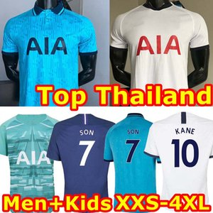 Man + Kids 19 20 KANE NDOMBELE Soccer Jersey 2019 2020 LUCAS SPURS ERIKSEN DELE SON TOTTENHAM jersey Football kit shirt SETS uniform on Sale