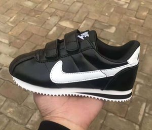 Wholesale All size New Child Sport Shoes Boys Girls Sneakers Casual Athletic Children s Running Shoes for Kids shoes brand hook loop Leather A61