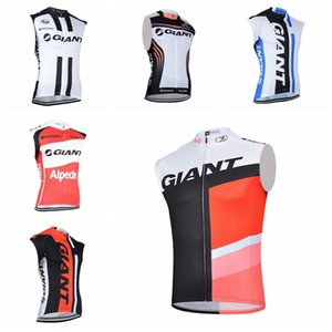 Wholesale GIANT team Cycling jersey Sleeveless tops Men Summer Style Breathable MTB Bike Vest Cycling Clothing Factory direct sales H62704