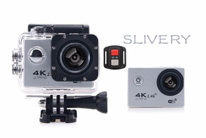Wholesale 4K Action Camera F60R WIFI G Remote Control Waterproof Video Camera MP MP K FPS Diving Recorder JBD N5