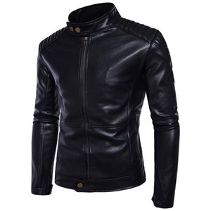 Wholesale Code European Export Germany Locomotive Leather Coat Fashion Carrie Motorcycle Leather Jacket Men S Wear International Large S