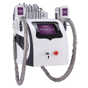 Wholesale cryolipolysis cavitation resale online - Cryolipolysis Fat Freezing Slimming Machine CE Cryo RF Cavitation Lipo Laser In Weight Loss Beauty Equipment