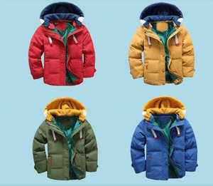 Wholesale Children Winter Outdoor Fleece Jackets For Boys Clothing Hooded Warm Outerwear Windbreaker Baby Kids Thin Coats
