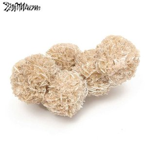 Kiwarm 100g Natural Desert Rose Selenite Crystal Flower For Healing Home Table Fish Tank Ornaments Decor Stone Crafts C19041101