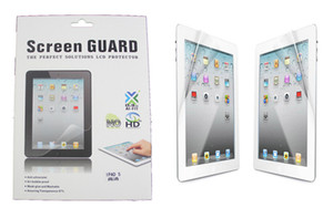 Wholesale High Definition LCD Clear Screen Protector Guard Film with Retail Package for Ipad Pro Ipad air mini