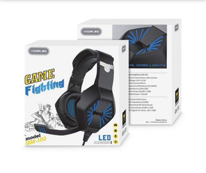 Wholesale ps4 microphone resale online - YESPLUS GM Eating Headphone Chicken League of Legends Luminous PS4 Game Headset Earphone Head mounted Gaming Headset with Microphone
