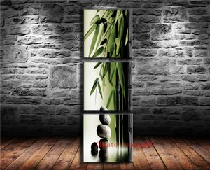 Wholesale Bamboo Stone P Canvas Pieces Home Decor HD Printed Modern Art Painting on Canvas Unframed Framed