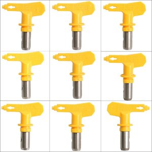 Wholesale Yellow series Airless spray Tip sprayer nozzles for Airless Spray G un and Paint Sprayer