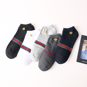Wholesale women designer Japanese and Korean new products cotton fashion men s boat socking casual low to help shallow mouth tide sports socks