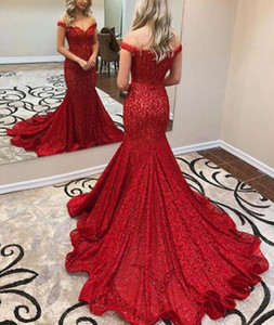 2019 Elegant Burgundy Zuhair Murad Evening Dresses full Lace Applique off the shoulder sweep train Formal Sexy Party Prom Dress Custom Made on Sale
