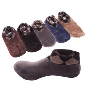 Wholesale Winter Thicken Non slip Floor Socks Unisex Men Women Warm Winter Soft Sole Home Room Shoes A1107