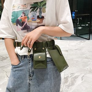 Wholesale New Women Fanny Pack Multifunction Waist Bag Men And Women Fashion Waist Pack Phone Bags Small Mini Belt Bag Chest Bum Bags