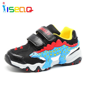 Boys Shoes Sneakers Dinosaur Children's Fashion Shoes Sneaker For Boys School Kids Autumn Sports Shoes 3-11 Years For Children Y190525 on Sale