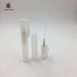 2019 new & hot 100pcs lot 8ml Empty Plastic Pen Perfume Hand Sanitizer Spray Bottle