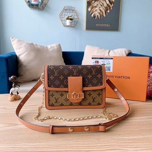 Best selling female designer handbag fashion Messenger bag shoulder bag quality leather luxury handbag chain clutch