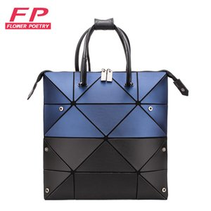 Wholesale New Fashion Luminous Bao Bag Womens Geometry Handbag Casual Female Matte Folding Tote Bags Women Diamond Crossbody Shoulder