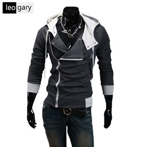 10 Colors New Men Hoodies Sweatshirts Casual Male Zipper Hoodies Slim Fit Men Hooded Jacket Size M-6xl on Sale