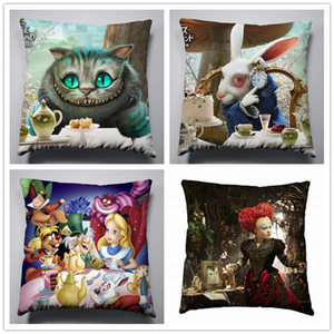 Wholesale Anime Manga Alice In Wonderland Pillow x40cm Pillow Case Cover Seat Bedding Cushion