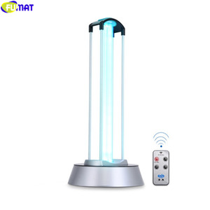 FUMAT 40W UV Desinfect Lamp Double Tube Sterization Ultraviolet Lamps UV Germicidal Light Remote Control Timer Disinfection Air Ozone