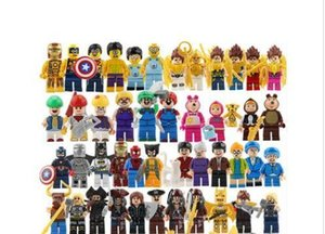 Wholesale New Building Blocks Super Hero Toys The Avengers Toys Hulk Hobbies Toys Mini Action Figures Bricks Christmas gifts for kids