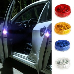 Wholesale LED Car Door Opening Warning Lights Flashing Anti Rear end Collision Safety Lamps