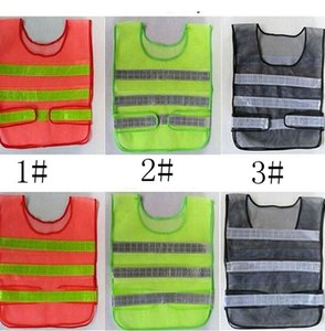 Wholesale safe vest for sale - Group buy Reflective Warning Vest High Intensity Reflection Safety Articles Traffic Safe Clothing Uniform Vest Breathable Reflective Vest LJJK2140