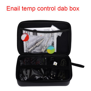 ENail Kit Digital PID Electronic DNails Dab Tool with Titanium Nail Domeless For WAX Vaporizer dry herb Vapor pen water pipe Glass bong