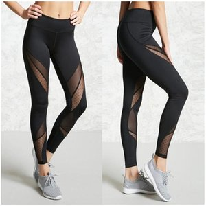 Wholesale Women Sexy Yoga Pants Black Sport Pants Fitness Gym Workout Running Tight Sportwear Leggings Female Trousers