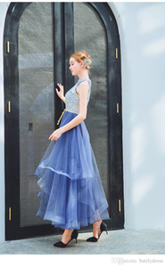 Wholesale Navy Blue Bridesmaid Dresses Sexy High Quality Prom graduation dresses bueatiful birthday dinner party dress comming of age ceremony