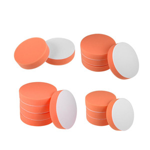 Wholesale uxcell Tool Buffing Sponge Pads Drill Polishing Buffer Disc Hook Loop Back for Car Polisher Boat Polishing Motocycle Sanding