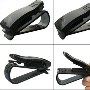 Wholesale New Arrived Car Sun Visor Glasses Sunglasses Ticket Receipt Card Clip Storage Holder Clamp Collection clip